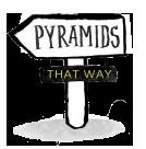 pyramids-sign